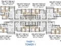 Bán gấp căn hộ Palm Height - Palm City, 2 phòng ngủ, view nội khu, giá 2 tỷ 780. LH: 0909.486.389