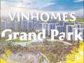 Vinhomes Grand Park Q9, sở hữu nhà thành phố chỉ với 1 tỷ, LH: 0982703070