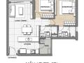 Chuyên bán Palm Heights 3 phòng ngủ, bàn giao thô, view sông mát mẻ, giá bán 4.050 tỷ bao phí
