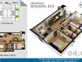 Nhượng lại căn hộ Tứ Hiệp Plaza 2PN 2WC - 61,75m2, giá 1,150 tỷ căn 06