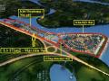 Bán lô Shophouse 2 mặt tiền view sông 99,2m2 Khu Đại Phú Gia, bán 39 triệu/m2 bao sang tên sổ đỏ
