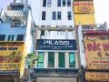 Cho thuê tòa nhà MT đường Âu Cơ, P9, Tân Bình. Diện tích: 6.7x30m NH: 11,2m nhà 7 lầu hầm