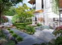 Tư vấn thiết kế nhà đẹp 3 tầng nhiều cây xanh với 2 tỷ đồng