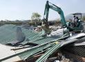 45 căn nhà xây trái phép tại Nha Trang bị phá dỡ