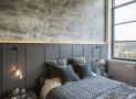 Những thiết kế phòng ngủ mùa đông nhìn là thấy ấm áp