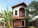 """Mẫu thiết kế nhà 2,5 tầng mang hơi hướng Hội An hút nghìn """"like"""" trên Facebook"""