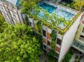Khám phá kiến trúc khách sạn xanh mướt ngay sát biển Mỹ Khê