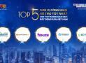 Batdongsan.com.vn đứng đầu Top 5 đơn vị công nghệ hỗ trợ tốt nhất cho thị trường BĐS