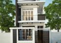 Tư vấn thiết kế nhà 1 trệt 1 lầu diện tích 5,5x8m với chi phí tiết kiệm