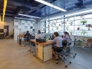 Thiết kế văn phòng 130 m2 tránh nắng và có cây xanh