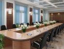 Chọn và bài trí bàn ghế phòng họp của công ty theo phong thủy