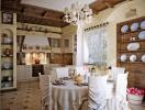 Những phòng bếp mang phong cách đồng quê ấm áp