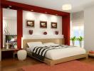 Tại sao không nên đặt giường ngủ giữa phòng?
