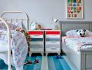 Sáng tạo phòng ngủ chung cực hay cho các bé