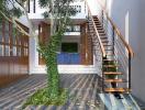 Tư vấn thiết kế nhà 3 tầng dành nhiều không gian cho sân vườn