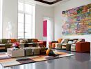 Phòng khách ấn tượng với những gam màu mùa thu