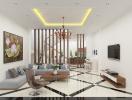 Thiết kế nhà 3 tầng với nhiều phòng riêng tư