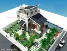 Tư vấn thiết kế biệt thự vườn 2 tầng