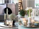Những ý tưởng trang trí bàn nước cho phòng khách độc đáo