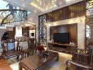 Thiết kế nhà 2 tầng theo phong cách bán cổ điển