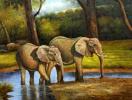 Tư vấn cách treo tranh voi hợp phong thủy