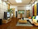 4 lưu ý về phong thủy khi thiết kế huyền quan của phòng khách