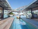 Khách sạn nổi độc đáo trên dòng sông thơ mộng ở Paris