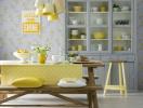 4 cách phối màu cho gian bếp ấn tượng