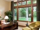 Thiết kế cửa sổ gỗ hợp phong thủy