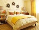 Gợi ý sắc màu cho phòng ngủ mùa thu