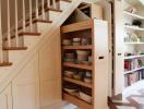 Mẹo hay giúp tận dụng khoảng không gian dưới gầm cầu thang
