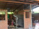 Đổ xô xây nhà tạm chờ đền bù trên đất dự án cảng biển