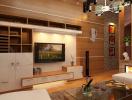 Những kiểu trang trí tường phòng khách ấn tượng nhất