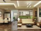 Lựa chọn nội thất và số tầng cho nhà chung cư