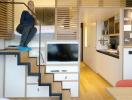 Học cách thiết kế nhà nhỏ siêu thông minh