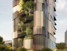 Tòa chung cư xanh mát như khu rừng thẳng đứng ở Australia