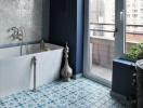 Muôn mẫu gạch lát ấn tượng cho phòng tắm