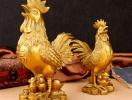 Năm Đinh Dậu, muốn chiêu tài đừng nên bỏ qua tượng gà trống