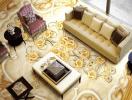 Ngôi nhà đầy sống động và ấn tượng nhờ gạch ốp tường 3D
