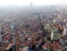 Tổng thể quy hoạch thủ đô khi nhìn từ trên cao