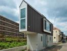 """Nội thất hoành tráng của căn nhà mỏng """"kì dị"""" ở Nhật Bản"""