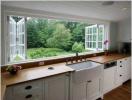 10 mẫu thiết kế cửa sổ phòng bếp đẹp ấn tượng