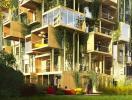 Các khối gỗ lắp ráp giúp tiết kiệm 75% năng lượng cho các tòa nhà ở Paris