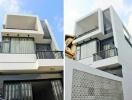 Mẫu nhà đẹp 3 tầng có giếng trời với chi phí 800 triệu đồng