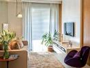 Cách bố trí đồ đạc giúp phòng khách nhỏ thêm rộng rãi