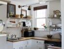 Sửa sang một chút, phòng bếp bỗng thay đổi bất ngờ