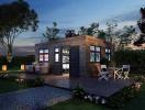 Ngôi nhà vẻn vẹn 39m2 được thiết kế đẹp như resort