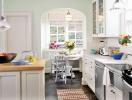 """8 căn bếp """"xanh mượt"""" khiến bạn yêu ngay từ cái nhìn đầu tiên"""