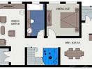 Tư vấn thiết kế xây nhà 3 tầng chi phí siêu tiết kiệm, DT 43m2
