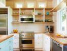 Những cách thiết kế, bố trí nội thất cho phòng bếp nhỏ